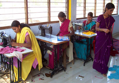 Women empowerment through training and support to start cottage industries