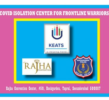 Isolation Centre for Frontline Warriors